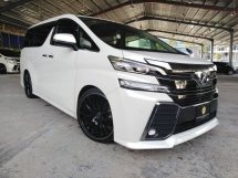 2016 TOYOTA VELLFIRE 3.5Z G EDITION ALPINE ENTERTAINMENT STEERING HEATER