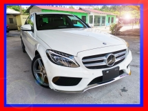 2014 MERCEDES-BENZ C-CLASS C180 AMG GOOD CONDITION - UNREG