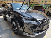 2015 LEXUS NX 2.0 F Sport Sunroof Precrash System Power Boot 2 electric seat Unregistered