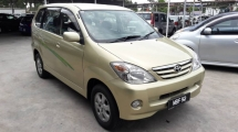 2005 TOYOTA AVANZA 1.3E (A) - Tip Top Condition