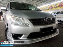 2015 TOYOTA INNOVA 2.0E 100% MPVCARKING like NEW