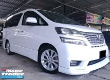 2010 TOYOTA VELLFIRE 3.5V 7 SEATER POWER DOOR