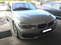 2016 BMW 3 SERIES 320I SPORTS Facelift 43K KM Full Service Under Warranty