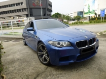 2012 BMW M5 4.4 Full Option Spec.Twin TurboCharged 575hp Full Service Record By BMW INGRESS* Genuine Low Mileage
