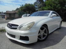 2005 MERCEDES-BENZ CLS-CLASS CLS350 3.5 V6 AMG TipTOP Sunroof LikeNEW Reg.2007