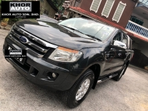 2014 FORD RANGER 2.5 XLT TDCI 4X4 DOUBLE CAB (A) TWON USED ONLY