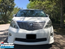 2008 TOYOTA ALPHARD 3.5 (A) VL PACKAGE - PILOT SEAT (FULL SPEC ) - LIKE NEW FEEL