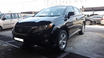 2011 LEXUS RX350 RX350 3.5cc (A) REG 2011, CBU, ONE DIRECTOR OWNER, FULL SERVICE RECORD, MILEAGE DONE 118K KM, POWER BOOT, SUNROOF, 18