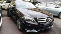 2014 MERCEDES-BENZ E-CLASS Unregistered Year 2014 Mercedes Benz, E250 AMG  JAPAN Facelift Model 2.0 Turbo engine (Panaromic Roof Spec)