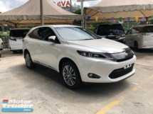 2017 TOYOTA HARRIER Unreg Toyota Harrier 2.0 360view PowerBoot 360View Push Start 7G