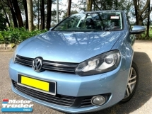 2010 VOLKSWAGEN GOLF 1.4 TSI (A) TURBO MK6 1 OWNER SALE