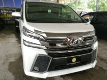 2015 TOYOTA VELLFIRE 3.5ZAG FULL LEATHER UNREG 2019