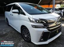 2015 TOYOTA VELLFIRE 3.5 ZAG FREE 1ST YEAR ROAD TAX