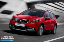 2018 PEUGEOT 2008 SUV RED