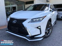 2017 LEXUS RX 200T F Sport HUD TRD Kit Unreg Sale Offer