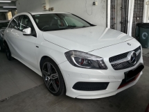 2014 MERCEDES-BENZ A250 2.0 Sport CBU TRUE YEAR MADE 2014 NO SST FREE 1 YEAR WARRANTY Mil 70k only Full Service Hap Seng
