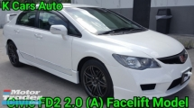 2012 HONDA CIVIC 2.0 FD2 S i-VTEC FACELIFT CONVERTED TYPE R BODYKIT EXCELLENT CONDITION