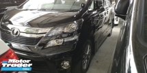 2014 TOYOTA VELLFIRE GOLDEN EYES 2 / ALPHINE TV / 2 YEARS WARRANTY / TIPTOP 5A CONDITION / IF YOU NO BUY IS YOUR LOSS