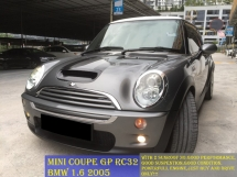 2005 MINI Cooper S GP RC 1.6 (A) sunroof