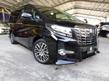 2016 TOYOTA ALPHARD SC SAC 3.5 STEERING HEATER PRE CRASH