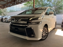 2016 TOYOTA VELLFIRE 2.5 ZG SUNROOF FULL LEATHER PILOT SEATS 2 POWER DOOR AND BOOT UNREG