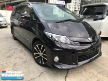 2014 TOYOTA ESTIMA 2.4 PREMIUM MODELLISTA BODYKIT 2 POWER DOOR 1 ELEC SEATS HALF LEATHER UNREG