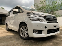 2013 TOYOTA VELLFIRE 2.4 V SPEC 2 POWER DOOR AND BOOT 2 ELEC SEATS MEMORY SEATS UNREG