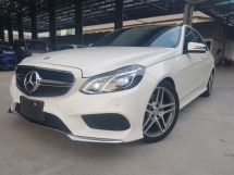 2014 MERCEDES-BENZ E-CLASS 2014 Mercedes E250 AMG NFL Panaromic Roof 4 Camera Full Leather Radar System Blind Spot Assith LKA System Unregister for sale