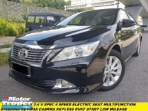 2015 TOYOTA CAMRY 2.5 V (A) FULL SERVICE RECORD NAPPA LETHER SEAT LOW MILEAGE