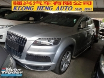 2013 AUDI Q7 3.0 TDI QUATTRO S LINE (UK SPEC)(ACTUAL YR MADE 2013)