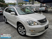 2006 TOYOTA HARRIER 2.4 (A) ALCANTARA PREMIUM-L SunRoof PowerBoot
