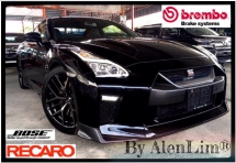 2016 NISSAN GT-R 35 Black Edition 3.8 (UNREG) BOSE SOUND SYS MODE SPEC