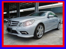 2010 MERCEDES-BENZ E-CLASS E250 CGI COUPE AMG 2010/2011 - ONE OWNER