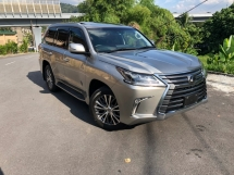 2016 LEXUS LX570 5.7 V8 MARKLEVINSON SUNROOF RED INT 360 CAM COOLBOX AIR SUS HUD