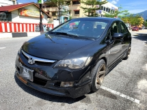 2007 HONDA CIVIC 1.8 S i-VTEC FULL Spec(AUTO)2007 Only 1 UNCLE Owner, 97K Mileage, TIPTOP, ACCIDENT-Free, DIRECT-Owner, ALE NEW PERAK Plate & AIRBEGs