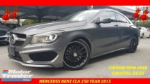 2015 MERCEDES-BENZ CLA 250 2.0 AMG NFL ORI MILEAGE CHINESE NEW YEAR CLEARANCE AT RM199,000 NEGO