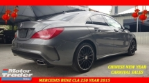 2015 MERCEDES-BENZ CLA 250 2.0 AMG NFL ORI MILEAGE CHINESE NEW YEAR CLEARANCE AT RM188K
