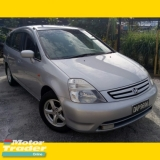 2003 HONDA STREAM 1.7 (A) CBU /CAREFULL OWNER/CBU/ORI CONDITION/ACC FREE/RUNNING CONDITION/VVIP NUMBER