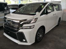 2015 TOYOTA VELLFIRE 2.5 ZG JBL PRE CRASH FULL LEATHER JAPAN UNREG
