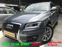 2012 AUDI Q5 2.0 TFSI (A) New FaceLift 4New Michelin
