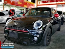 2014 MINI Cooper S 2.0 TURBO 3 DOOR UNREG BLACK EDITION