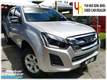 2018 ISUZU D-MAX Isuzu D-MAX 2.5 4X4 FACELIFT (M) FULL SERVICE RECORD UNDER WARRANTY