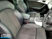 2012 AUDI A6 TFSI S-LINE FACELIFT (A) (NOT HYBRID) ALCANTARA SEMI BUCKET SEAT WITH FULL LEATHER MMI PADDLE SHIFT