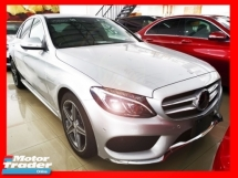 2014 MERCEDES-BENZ C-CLASS C200 AMG FULL LEATHER, 2 MEMORY SEAT, POWER BOOT UNREG