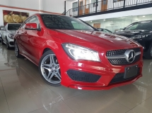 2014 MERCEDES-BENZ CLA 2014 Mercedes CLA180 AMG Japan Spec Panaromic Roof Full Leather L R Memory Seat Unregister for sale