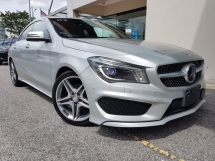 2014 MERCEDES-BENZ CLA 2014 Meredes CLA180 AMG Japan Spec Radar system Blind Spot Assith LKA System Unregister for sale