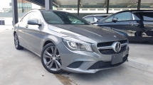 2015 MERCEDES-BENZ CLA 2015 Mercedes CLA180 SE Japan Spec Keyless Radar System Blind Spot Assith LKA System Unregister for sale