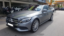 2017 MERCEDES-BENZ C-CLASS C350e (A) PLUG IN HYBRID, REG 2017, ONE CAREFUL OWNER, FULL SERVICE RECORD, LOW MILEAGE DONE 29K KM, UNDER WARRANTY UNTIL JULY 2021
