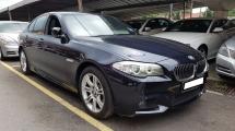 2013 BMW 5 SERIES 528I M-SPORTS (A) REG 2013, CKD, ONE CAREFUL OWNER, FULL SERVICE RECORD, LOW MILEAGE DONE 73K KM, FREE 1 YEAR GMR CAR WARRANTY