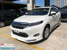 2015 TOYOTA HARRIER Unreg Toyota Harrier 2.0 Panaromic Roof PowerBoot 360View Push Start
